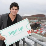 Alastair Cook is urging sports fans to sign up on the London 2012 ticketing website. Image: LOCOG