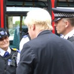 Mr Johnson has unveiled his policing and crime policies