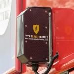 The sensors will alert drivers to nearby cyclists and pedestrians.