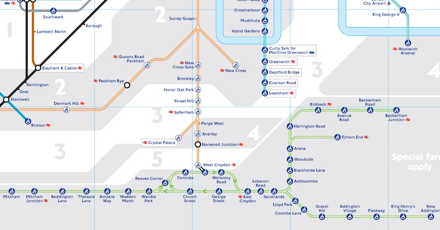 London\'s Tube map updated to include tram services — MayorWatch
